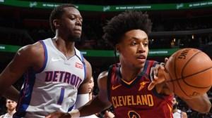 خلاصه بسکتبال دیترویت پیستونز - کلیولند کاوالیرز