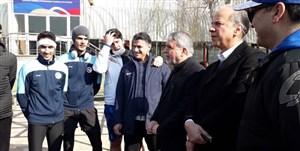 حضور صالحی امیری در اردوی تیم ملی تکواندو