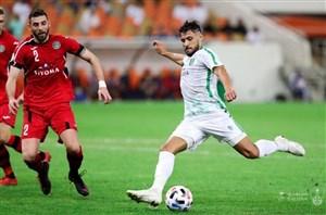خلاصه بازی الاهلی عربستان 1 - استقلال تاجیکستان 0