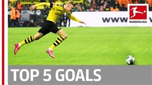 5 گل برتر هفته نوزدهم بوندسلیگا