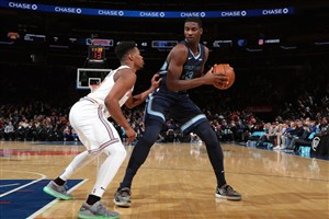 خلاصه بسکتبال نیویورک نیکس - ممفیس گریزلیز