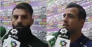 صحبتهای بازیکنان شاهین پساز پیروزی مقابل پیکان