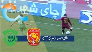 خلاصه بازی شهرخودرو 3 - ماشین سازی تبریز 1
