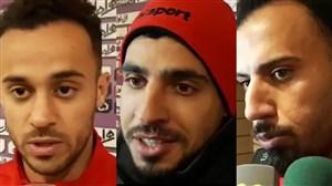 بازیکنان شهرخودرو بعد از پیروزی مقابل ماشینسازی