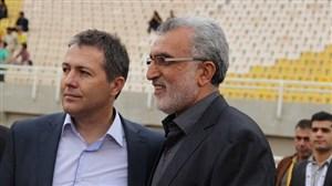 کنفرانس خبری دیدار پیکان تهران - شاهین شهرداری بوشهر