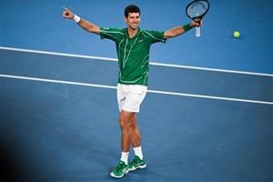 ضربات مهار نشدنی نواک جوکوویچ در تنیس
