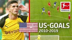 برترین گلزنان آمریکایی در بوندسلیگا آلمان
