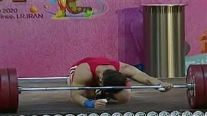 حرکات ناموفق کیانوش رستمی در یک ضرب (جام فجر)
