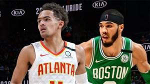 خلاصه بسکتبال آتلانتا هاکس - بوستون سلتیکس