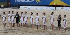 بیانیه مشترک اعضای تیم ملی ساحلی (عکس)