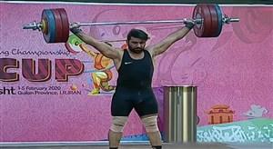 کسب مدال طلای یک ضرب توسط علی هاشمی