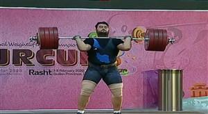 کسب مدال طلای دوضرب توسط علی داوودی