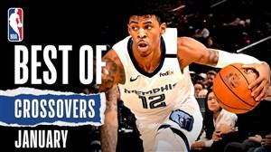 برترین کراس اوورهای ماه ژانویه در بسکتبال NBA