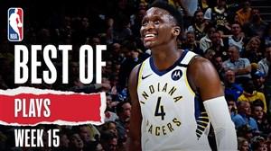 برترین حرکات هفته پانزدهم بسکتبال NBA