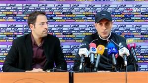 کنفرانس خبری یحیی گل محمدی قبل از بازی با استقلال