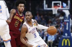 خلاصه بسکتبال اوکلاهما سیتی تاندر - کلیولند کاوالیرز