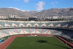 استادیومآزادی کمتر از ۳ ساعت تا شروع دربی