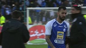 عصبانیت غلامپور و چشمی بعد از پایان بازی
