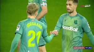 گل اول سوسیداد به رئال مادرید توسط اودگارد