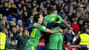 گل دوم سوسیداد به رئال مادرید (الکساندر ایساک)