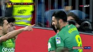 گل چهارم سوسیداد به رئال مادرید (مرینو)