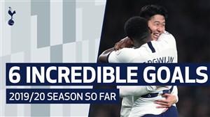 برترین گل های تاتنهام از نگاه هواداران 20-2019