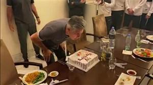 جشن تولد افشین قطبی در چین