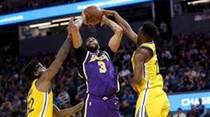 خلاصه بسکتبال گلدن استیت واریرز - لس آنجلس لیکرز