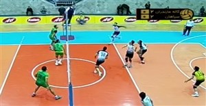خلاصه والیبال کاله 3 - سپاهان 2