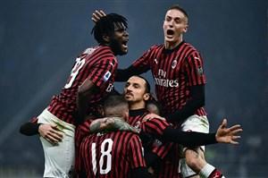 5 گل برتر آث میلان در فصل 20-2019