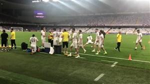 آخرین تمرین سپاهان پیش از مصاف با العین امارات