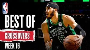 برترین کراس اوور های بسکتبال NBA در هفته 16