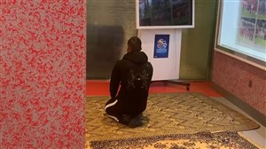نماز شکر مهدی بن عطیه بعد از برد مقابل پرسپولیس