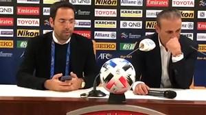 صحبتهای گلمحمدی بعد از بازی برابر الدحیل
