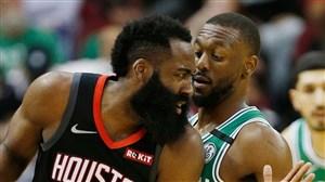 خلاصه بسکتبال هیوستون راکتس - بوستون سلتیکس