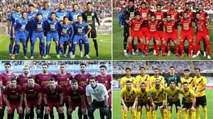 پاگشای تیمهای ایرانی در لیگ قهرمانان آسیا با تنها یک برد