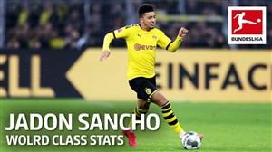 نگاه آماری به مهارتهای جیدون سانچو