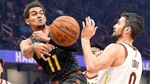 خلاصه بسکتبال آتلانتا هاوکس - کلیولند