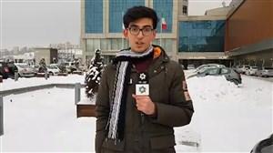 برفسنگین در تبریز و مقاومتسازمانلیگ(گزارش اختصاصی)