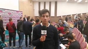 گزارش اختصاصی از پایان کنفرانس خبری اسکوچیچ