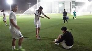 ادامه تمرینات شاداب سپاهانی ها در قطر