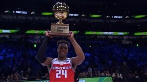 فینالپرتابسهامتیازی NBA 2020 با قهرمانیبادیهیلد