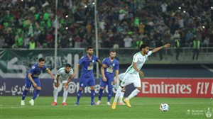 سلمان الموشر بهترین بازیکن بازی استقلال - الاهلی