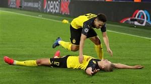دورتموند 2-1 پاریسنژرمن: هالند، برنده نبرد ستارهها