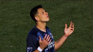 اولین بازی چیچاریتو با پیراهن لسآنجلس گلکسی