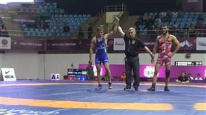 پیروزی قاطع محسن نژاد برابر حریف عراقی در وزن60کیلوگرم