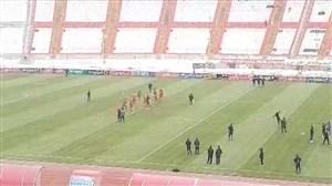 وضعیت ورزشگاه یادگار امام در آستانه بازی تراکتور - مس