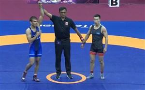 کسب مدال برنز توسط محسن نژاد (60 کیلوگرم)