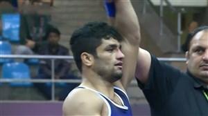 کسب مدال برنز توسط حسین اسدی (67 کیلوگرم)