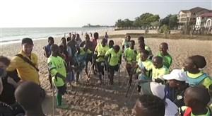 داستان امید و اراده در تیم معلولان سیرالئون